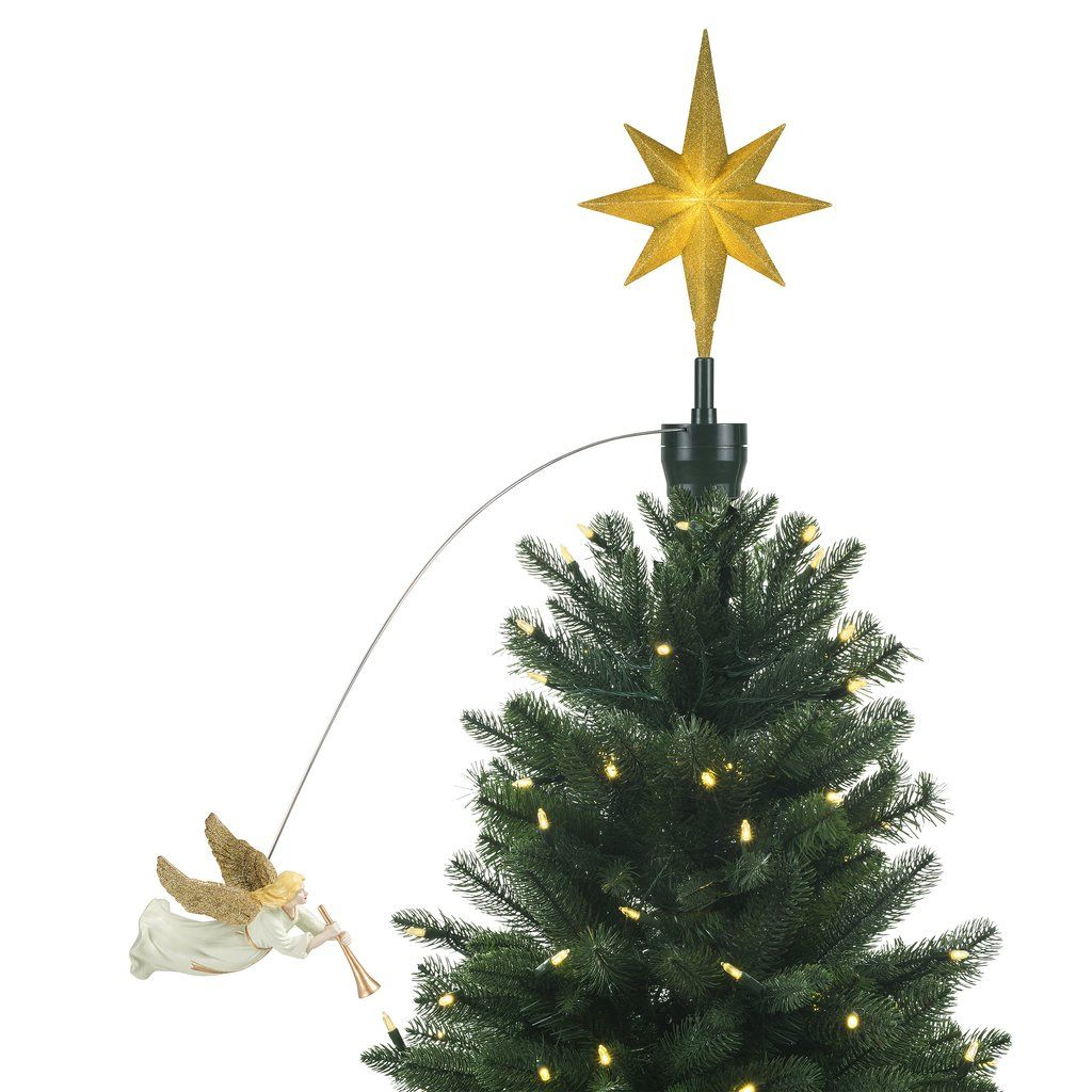 Animated Tree Topper Angel In 2020 Tree Toppers Mr Christmas Holiday Decor Christmas