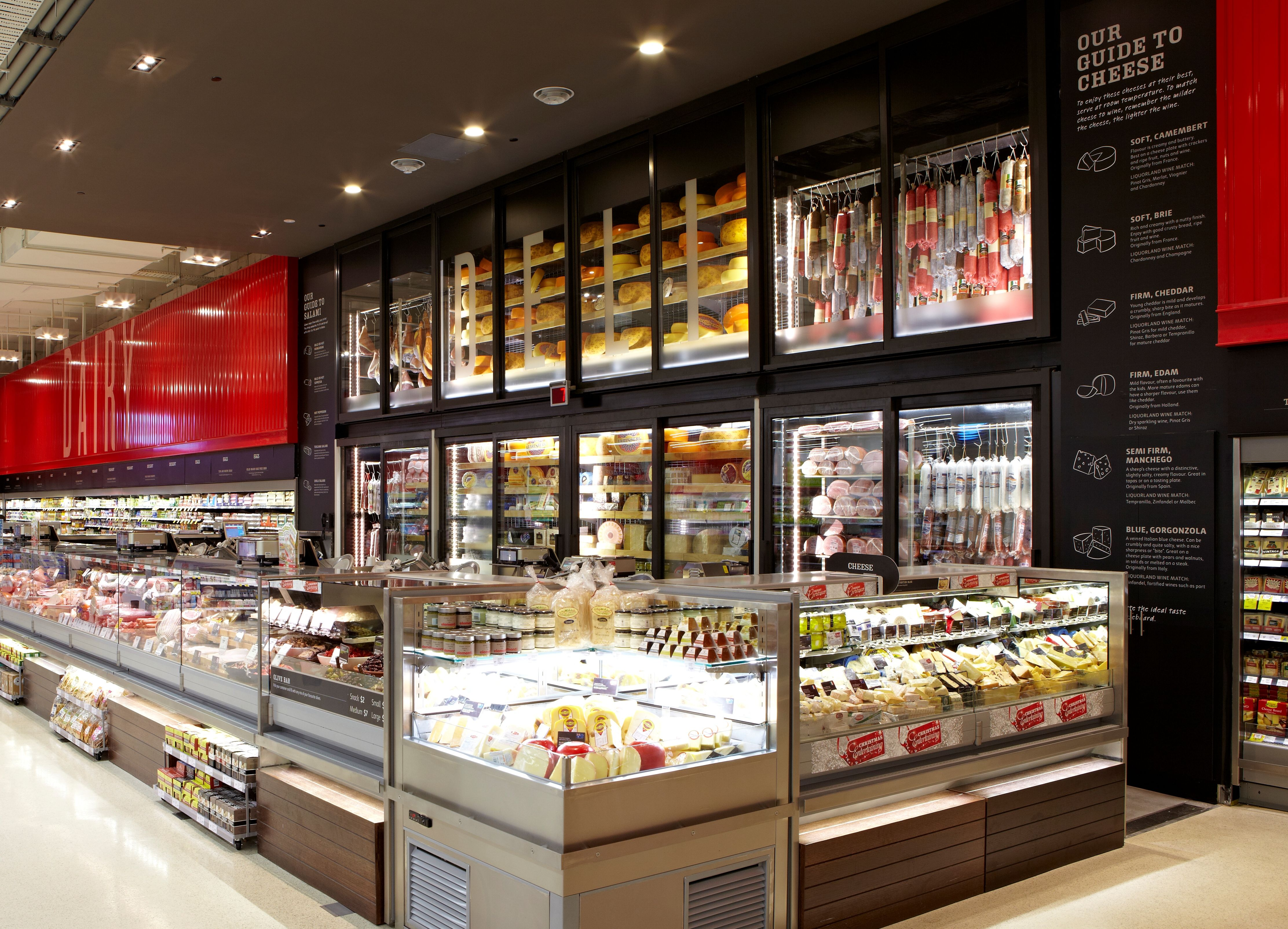Retail Lighting Stores Sydney Salad Bar Display Google Search Modern Greens