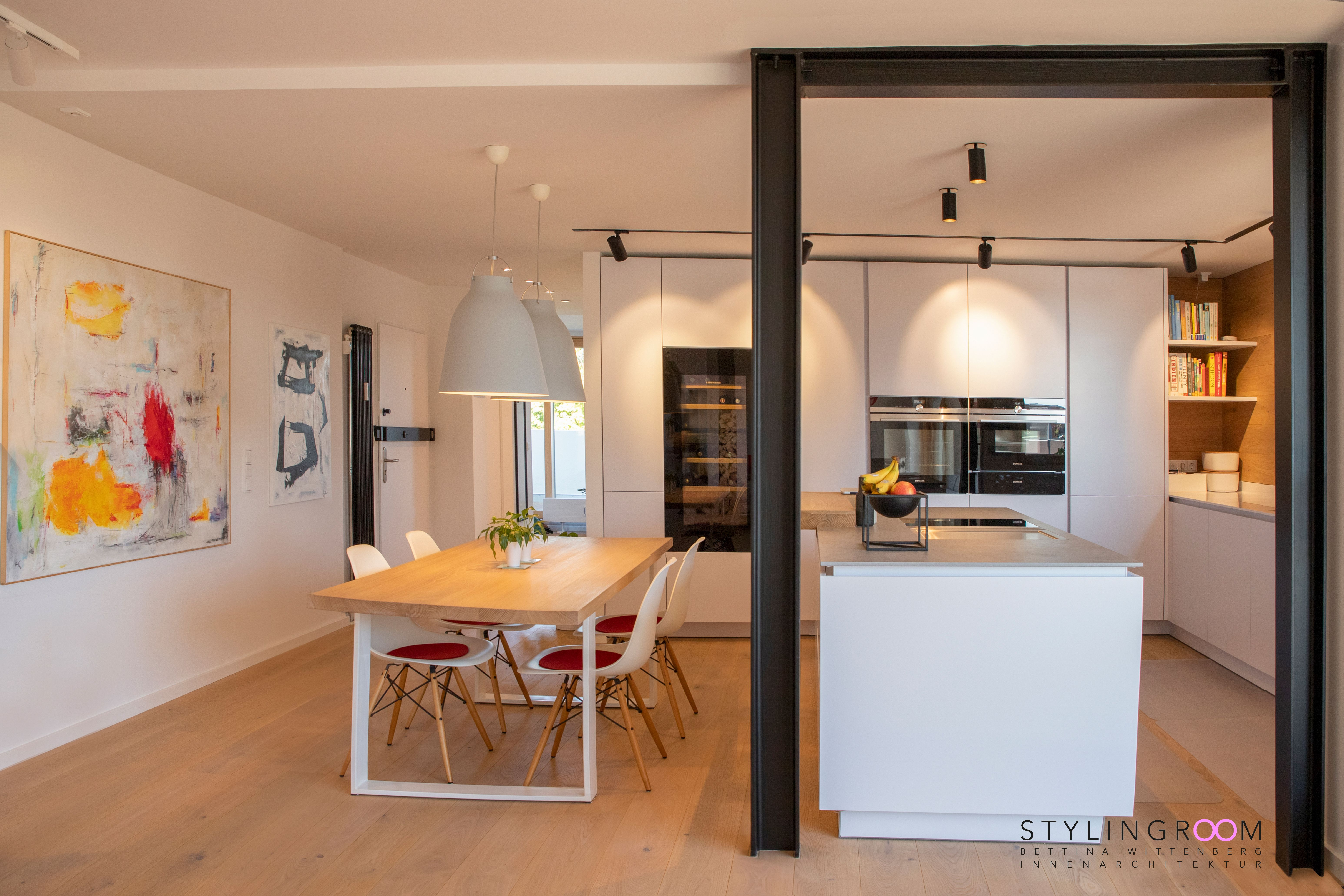Kochinsel im Raum   Haus, Innenarchitektur, Wohnen