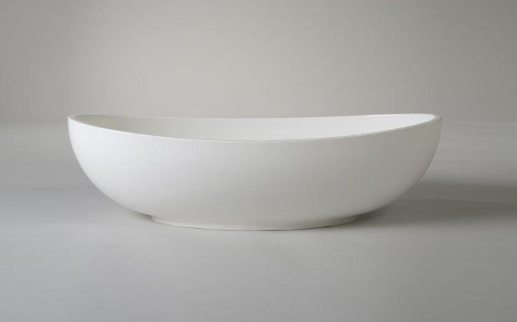 Umywalka Ravon Tulipano 62x33 5x17 5 Cm Bialy Polysk Umywalki Deszczownice Led Kabiny Parowe Wanny Z Hydromasazem Aquasti Tableware Bowl Serving Bowls