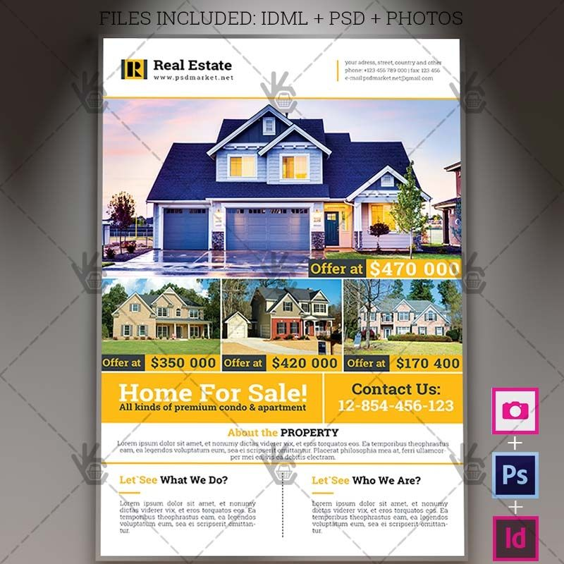 Open House Flyer Template from i.pinimg.com