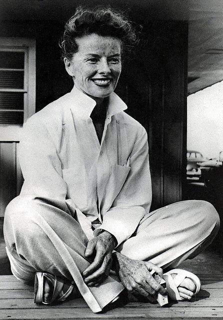 Katharine Hepburn 1950s Katharine Hepburn Hepburn Style Katherine Hepburn