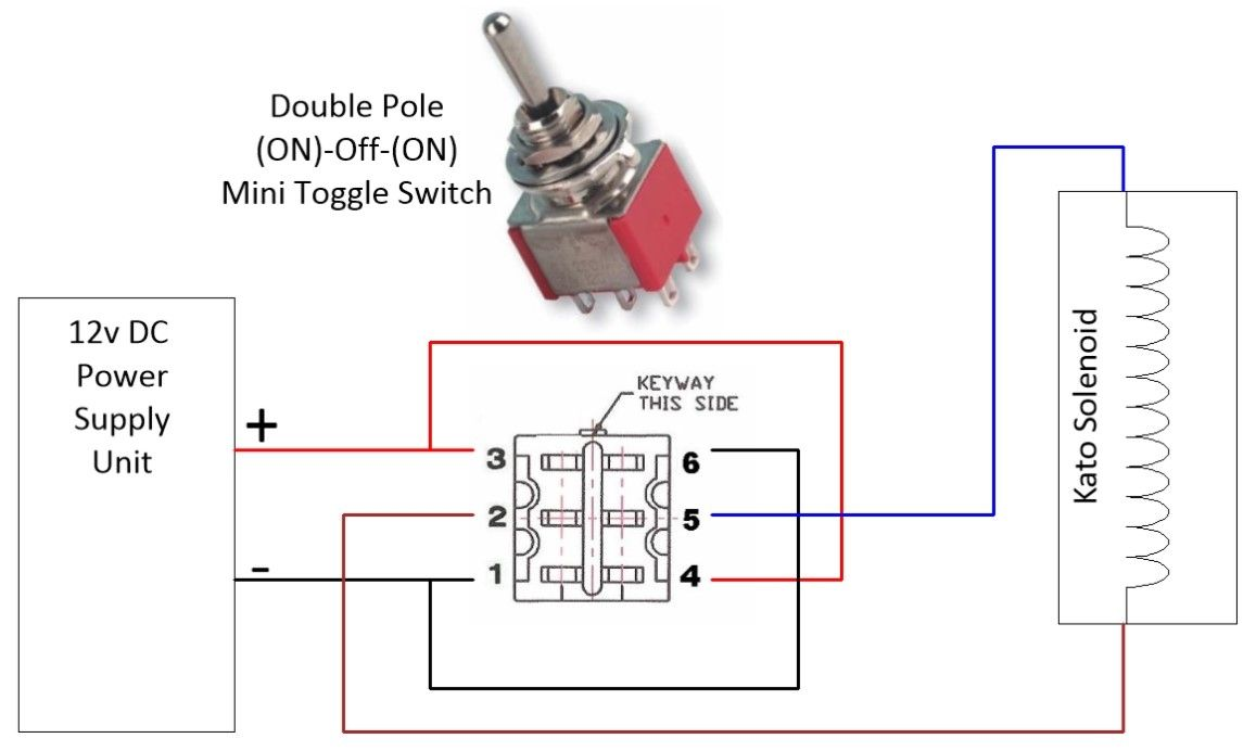 Mini Toggle Switch Dpdt On Off On Momentary Electronic