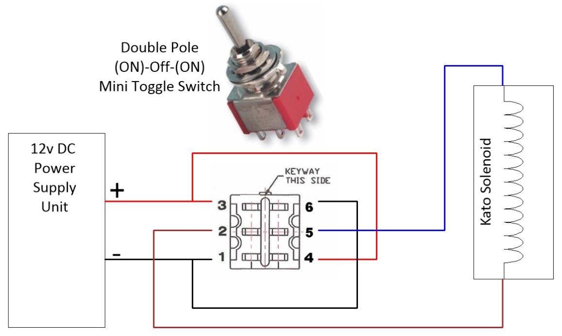 Mini Toggle Switch Miniature SPDT On On-Off-