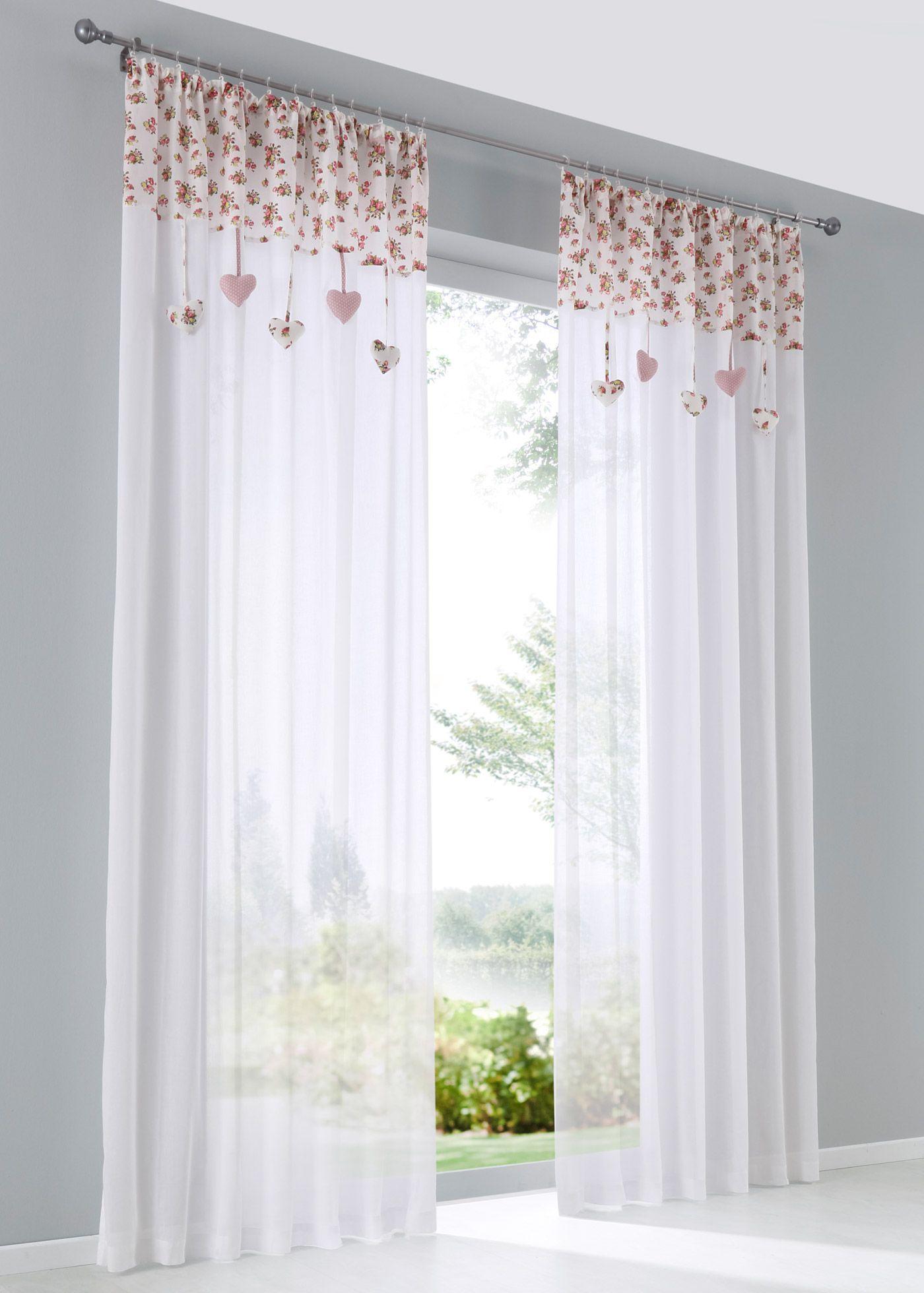 lovely einfache dekoration und mobel leinenvorhaenge leicht und luftig 2 #4: Schöner