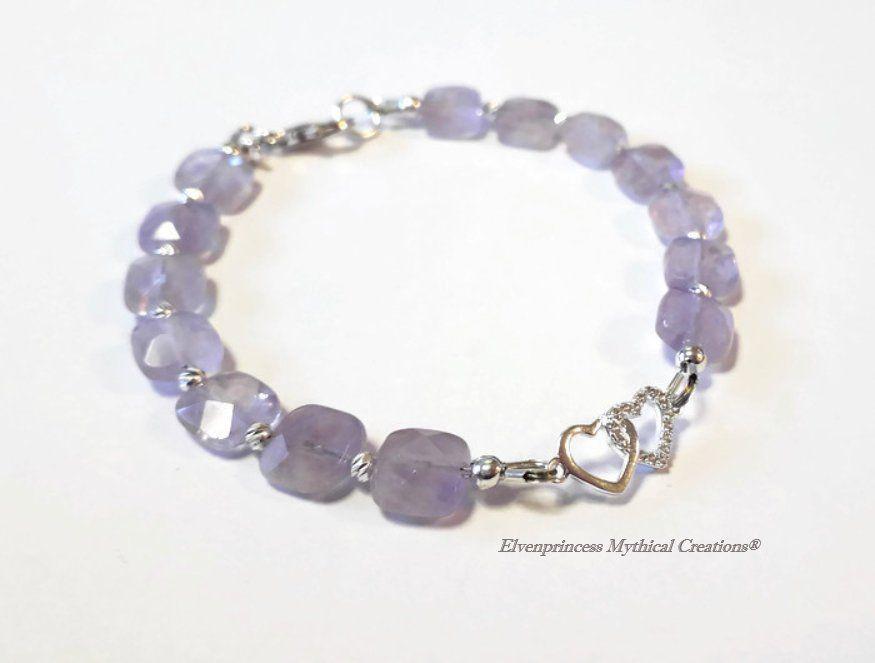 February Birthday Charm Purple Cubic Zirconia Sterling Silver
