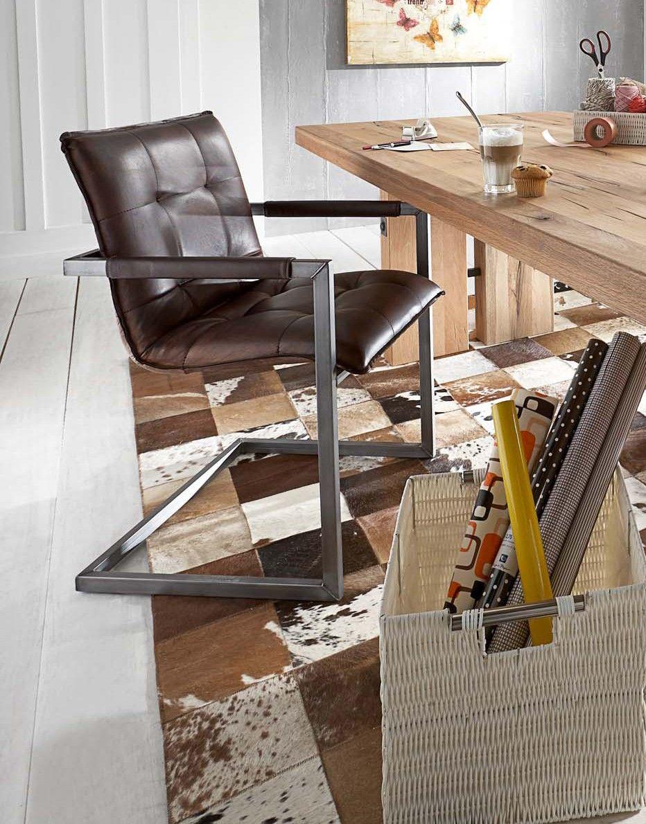 die besten 25 schwingstuhl leder ideen auf pinterest lederstuhl braun freischwinger st hle. Black Bedroom Furniture Sets. Home Design Ideas