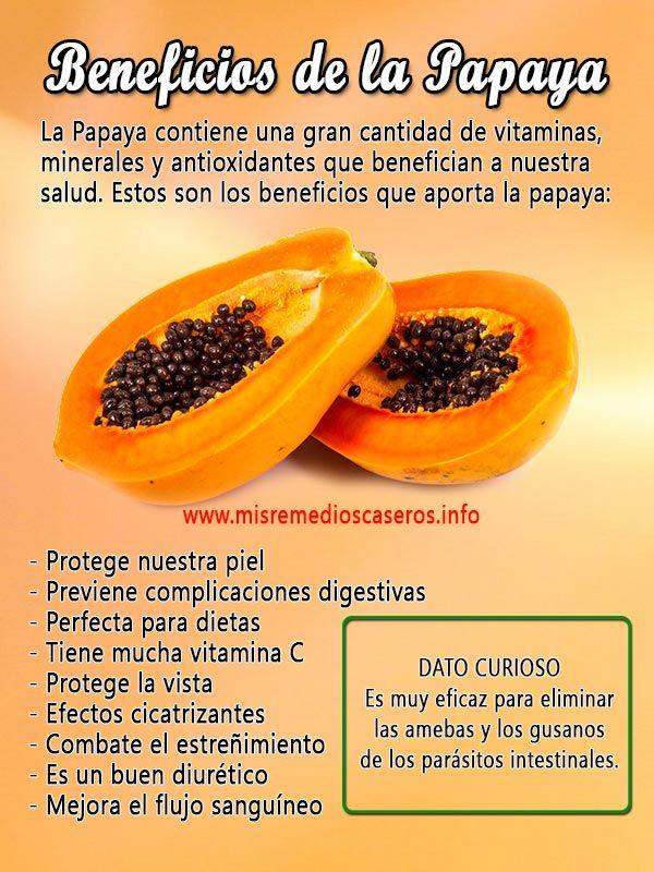 La semilla de papaya para adelgazar