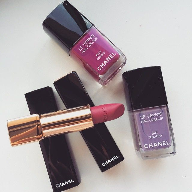 A few items I bought from the Chanel Spring collection.