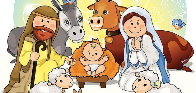 Nacimiento Del Niño Jesús Cuento De Navidad Nacimiento Del Niño Jesus Nacimiento De Jesus Historias De Navidad