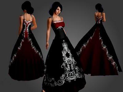 Black White And Red Wedding Dress Naf Dresses My Wedding