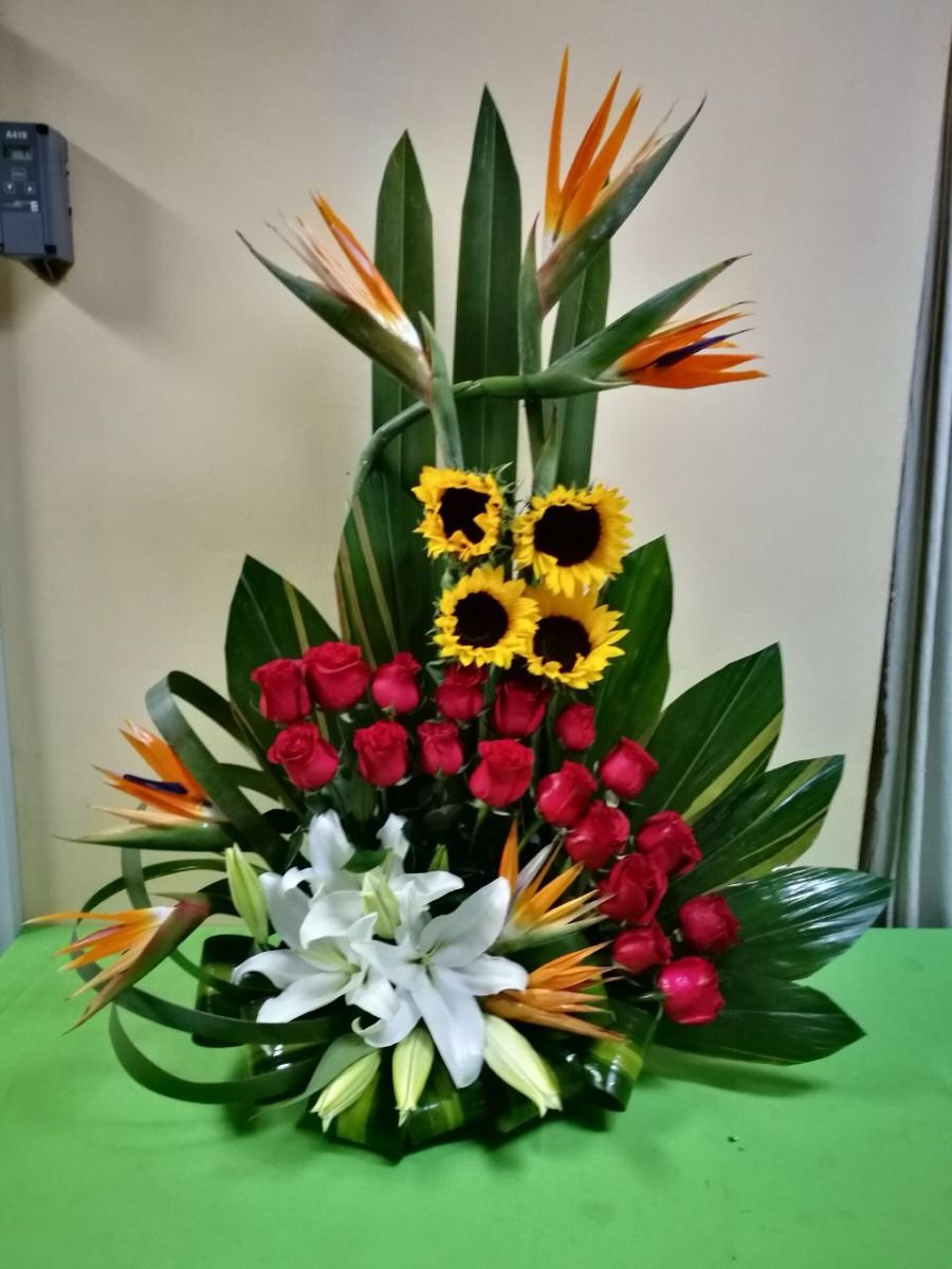 Pin En Arreglos Flores Naturales
