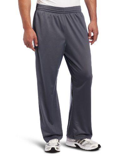 adidas Men's 3 Stripe Pant, LeadBlack, Small | my man