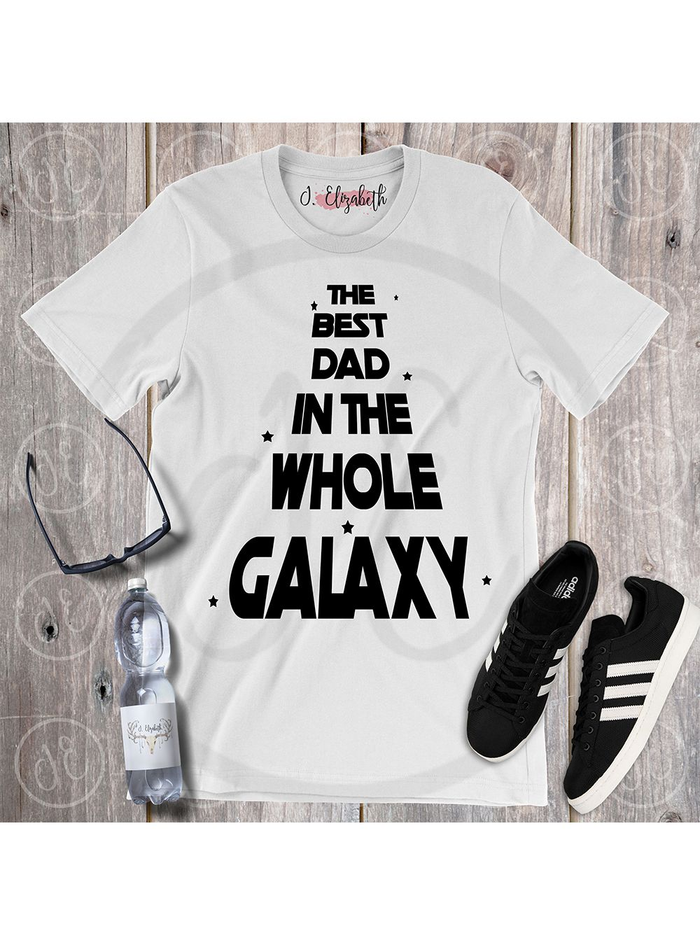 The Best BROTHER In The Galaxy T-Shirt Mens Father Shirt