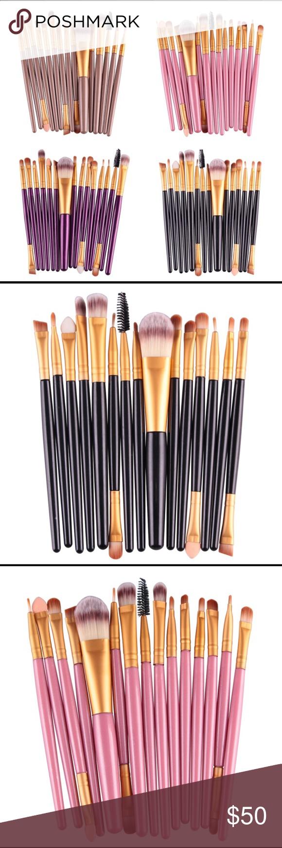 SALE FINAL MARKDOWN 15 Piece Makeup Brush Set Boutique