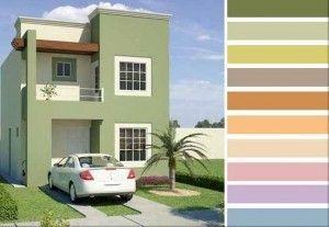 Excelentes Imagenes De Colores Para Pintar El Exterior De Una Casa Pintar Fachadas De Casas Exteriores De Casas Casas Pintadas