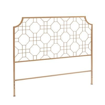 With Its Open Geometric Pattern That Allows A Textured Or Painted