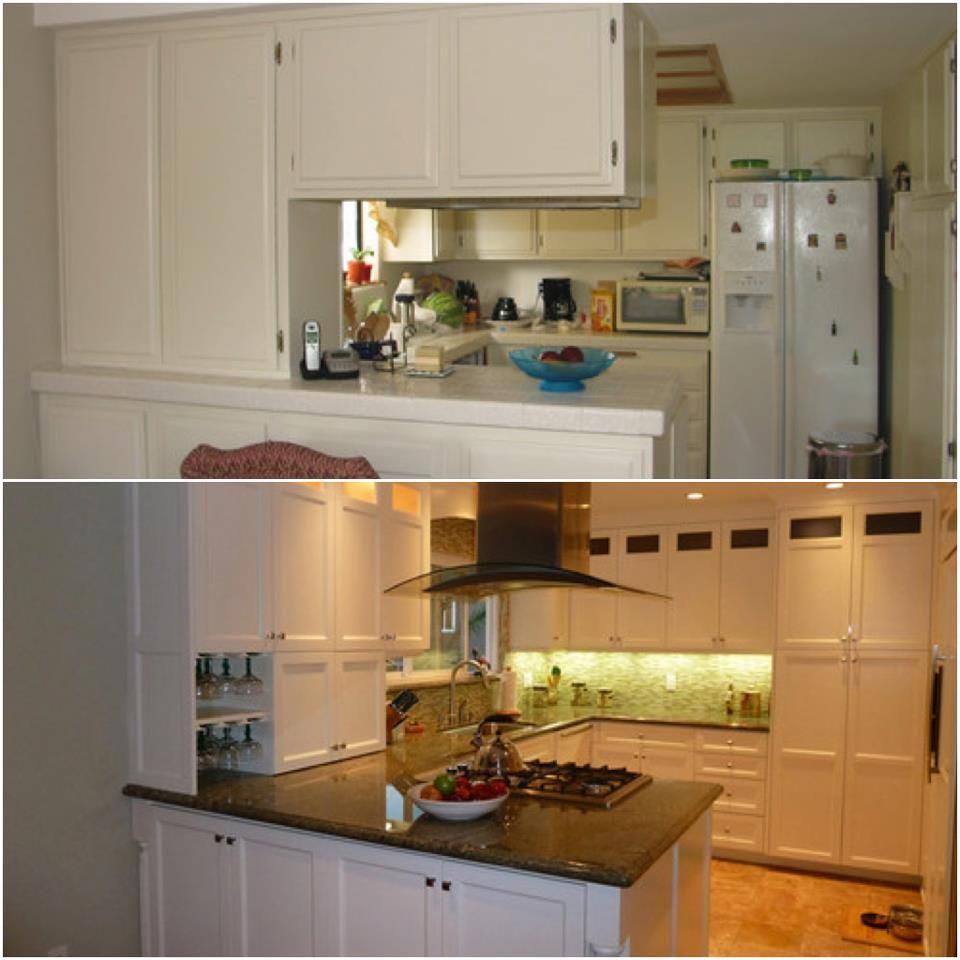 Before and After: Kitchen Renovation! Small kitchen? No problem ...