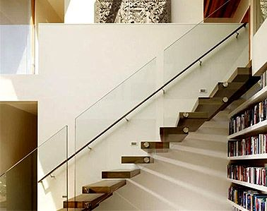 Creative Glass Stair Railing 2