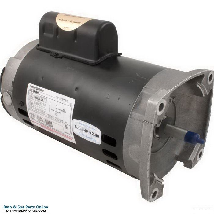 A O Smith Aos Century 2 0 Hp Motor 56y 1 S Sqfl 230v B748 Spa Parts Pool Cleaning Will Smith