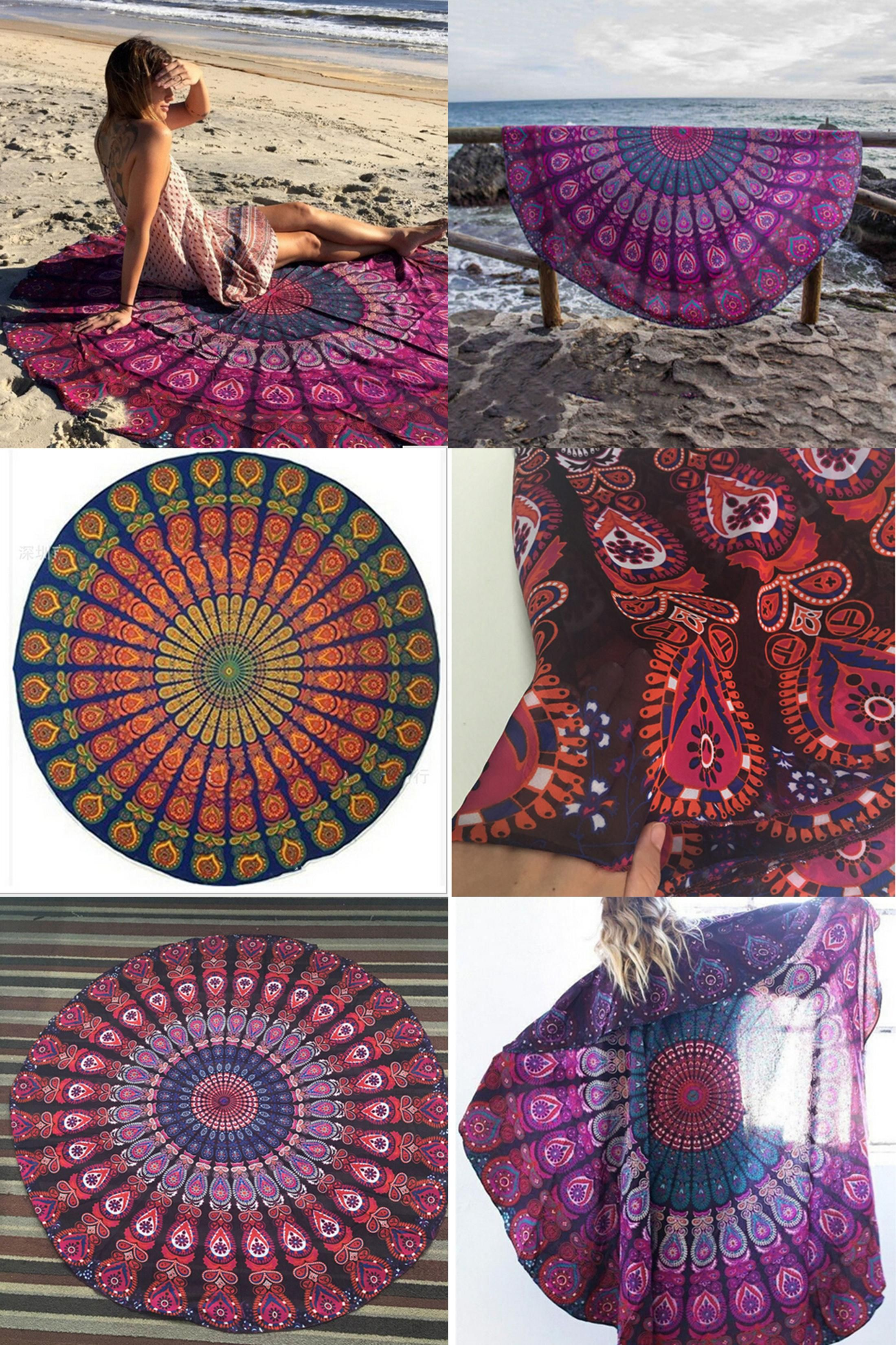 Visit To Buy 2016 New Summer Large Shawl Chiffon 150cm Beach
