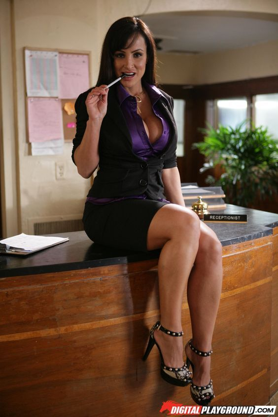 Hot milf at work