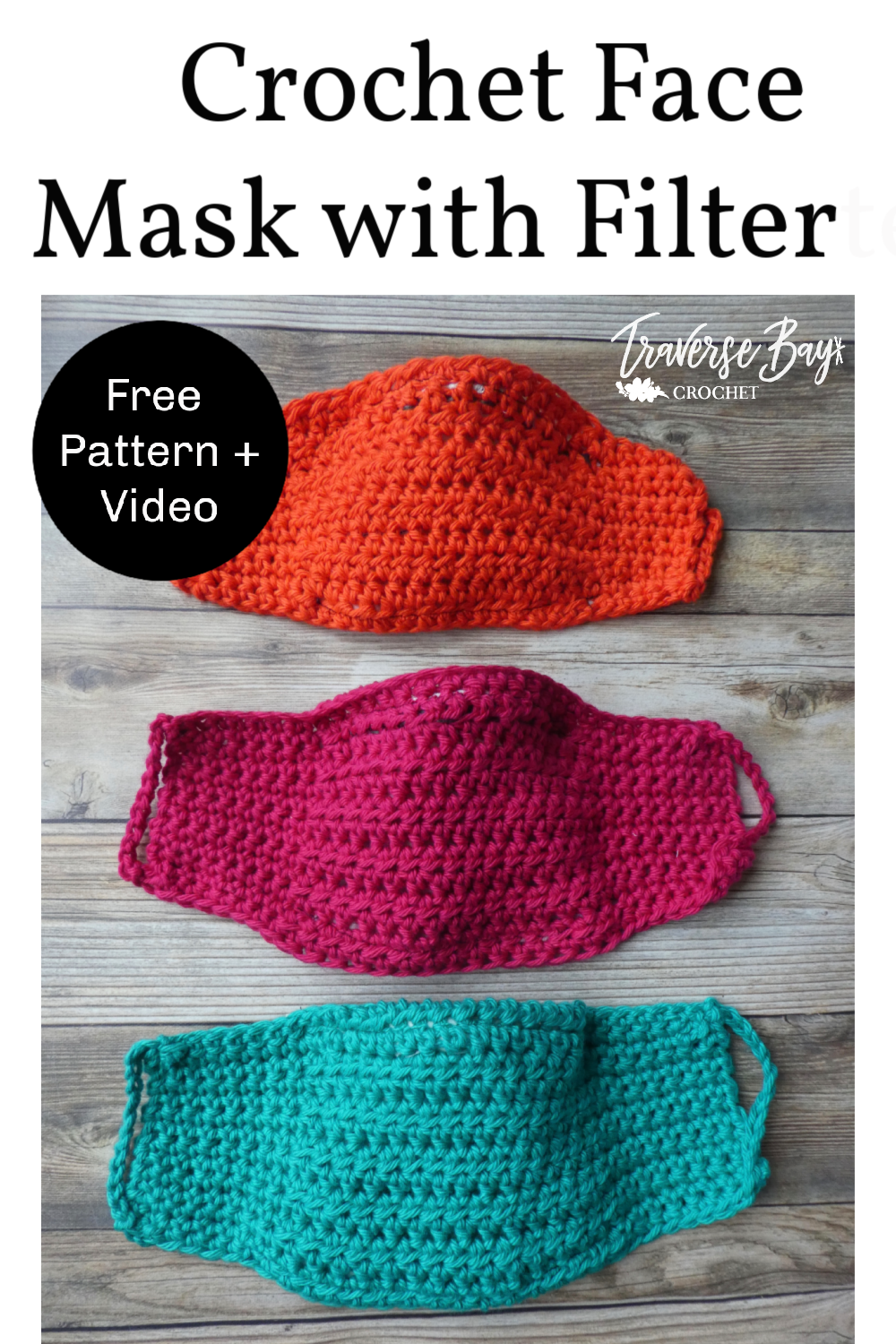 Photo of Easy DIY Crochet Face Mask with Filter