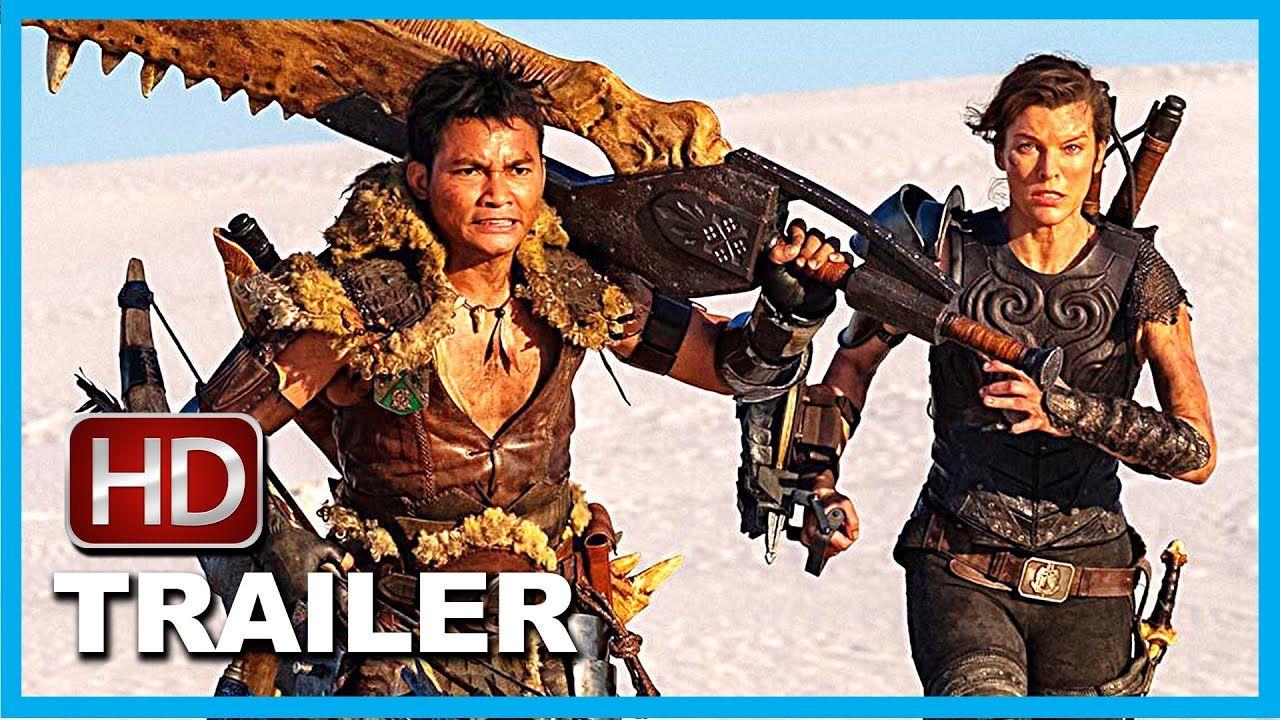 Monster Hunter Official Trailer Terbaru Film Bioskop Indonesia D Di 2020 Bioskop Monster Hunter Monster