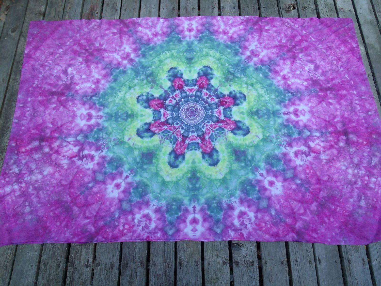 c5d5d811e6d7dc Tie Dye Twin Size Flower Mandala Bed Sheet   Tie Dyed Bedding   Ice Dye  Sheet   Tapestry   Wall Hanging   Single Tyedye Bed SheetSheet by  PiecefulWorlds on ...