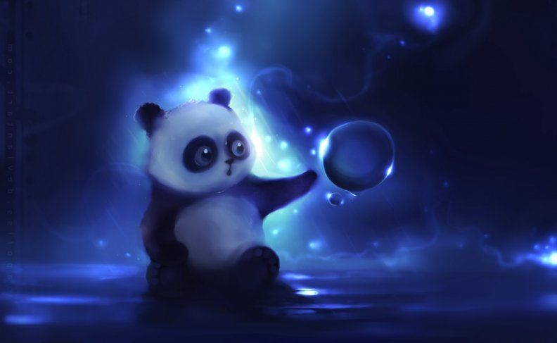 3d Wallpapers Download Hd Wallpapers And Free Images Panda Art Panda Wallpapers Panda Background