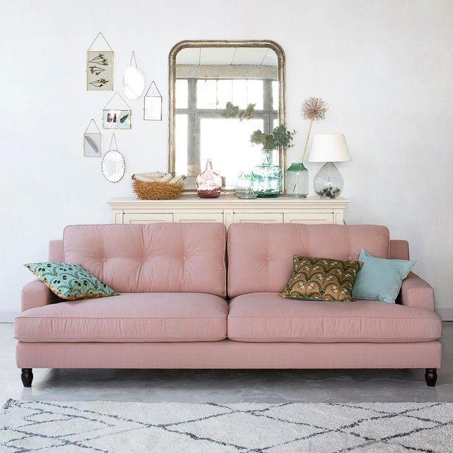 Canapé 2 ou 3 places, fixe coton, Rina La Redoute Interieurs