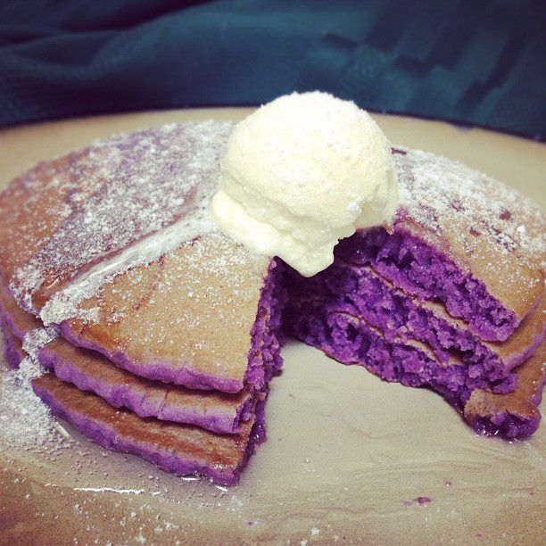 Ube pancakes for all you filipinos breaking fast pinterest ube pancakes for all you filipinos filipino dessertsfilipino recipesfilipino ccuart Images