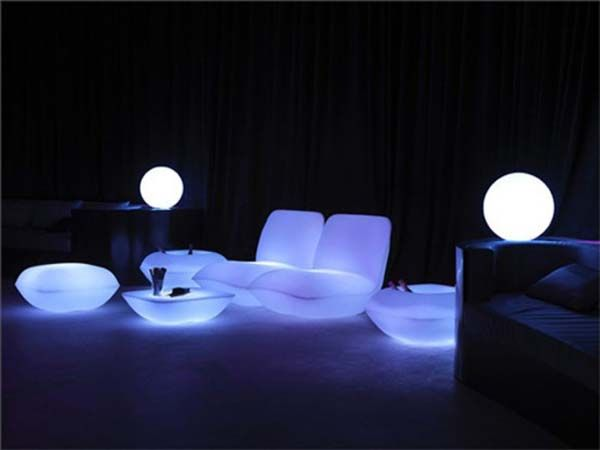 Have You Ever Tried Using Glow In The Dark Furnishings For Your Patio Designs If