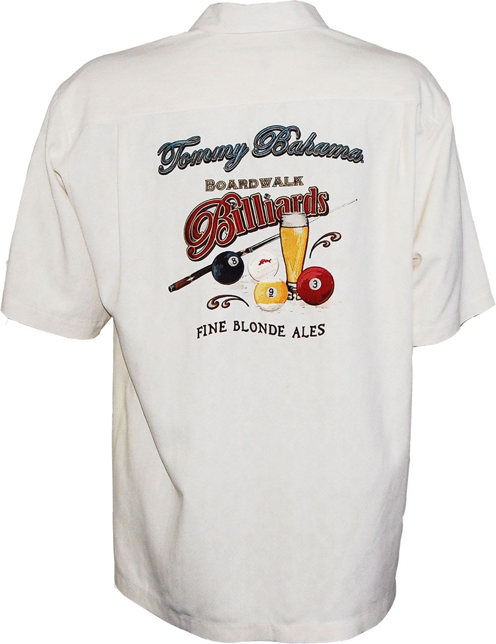 Tommy Bahama Boardwalk Billiards Signature Camp Shirt