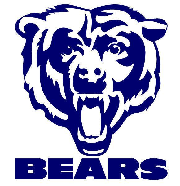 chicago bears logo buscar con google ilustration and design rh pinterest com