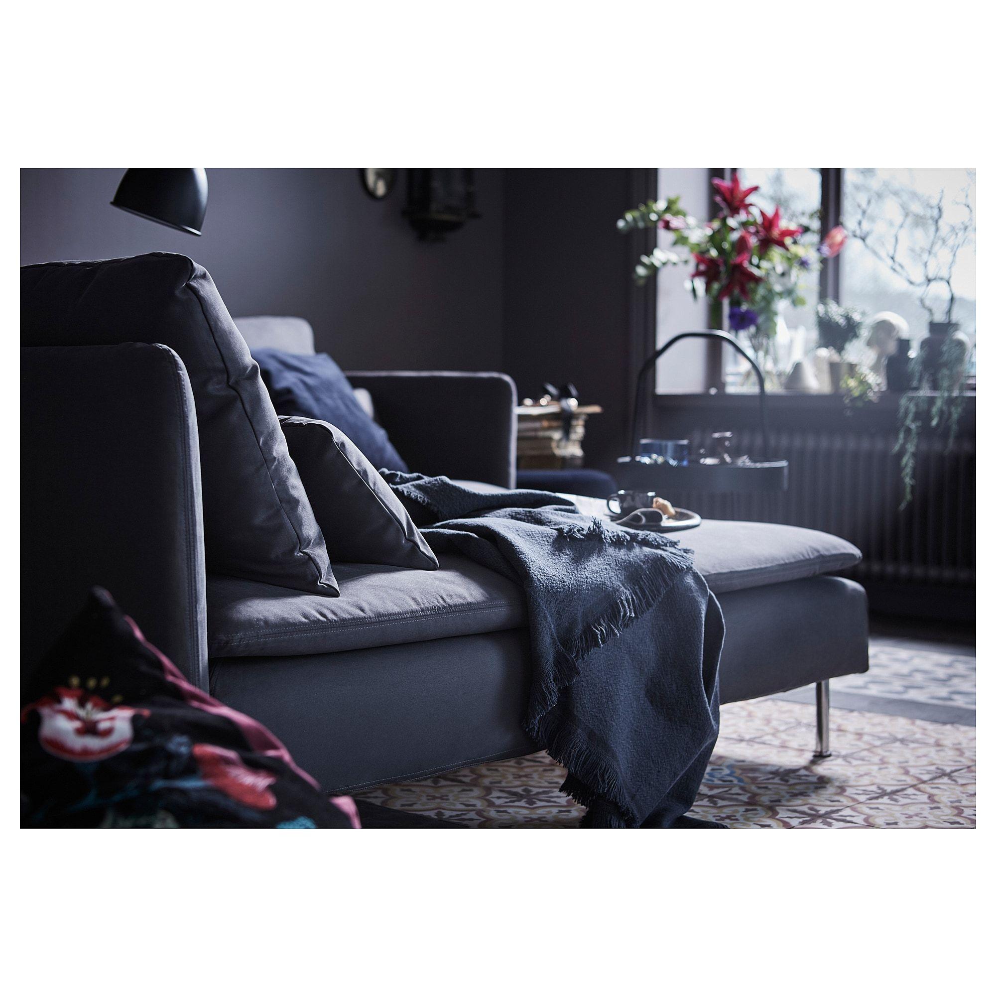 Ikea Soderhamn Samsta Dark Gray Chaise In 2019 Ikea Ikea