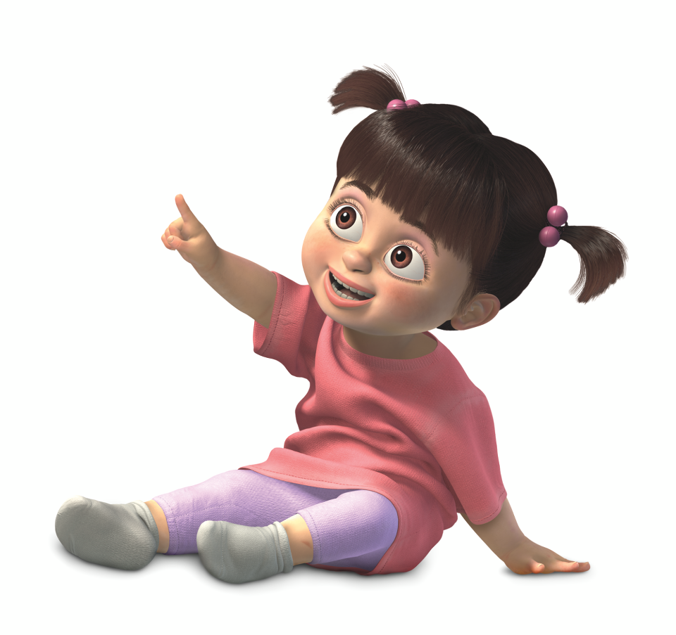 Boo from Monsters, Inc. | C.p. | Pinterest