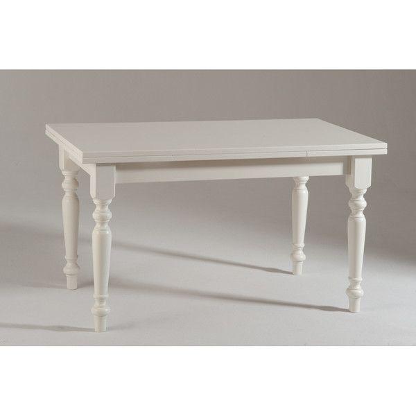 Biały stół rozkładany do jadalni Castagnetti Pranzo, 140cm