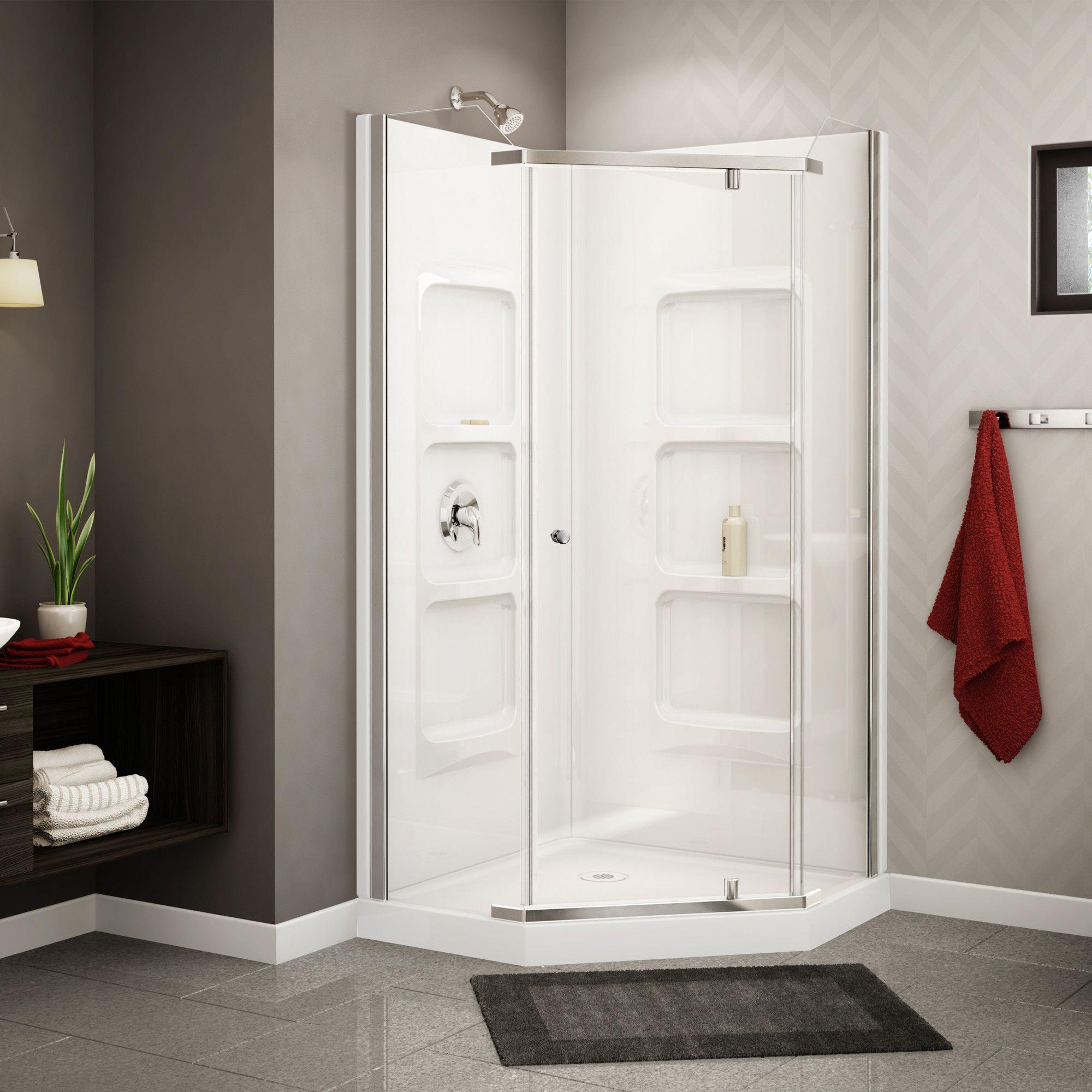 Au0026E Bath And Shower Nevada Neo Angle Corner Shower Set U0026 Reviews | Wayfair