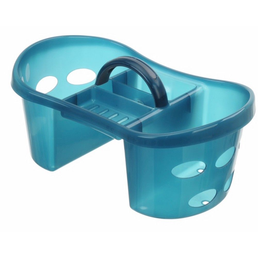 Plastic Shower Caddy Cloudy Turquoise - Room Essentials | Products