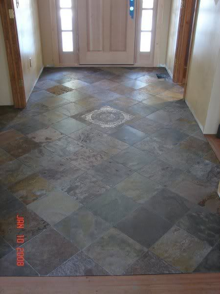 Large Tile Foyer : Slate entryway google search bathroom renovation