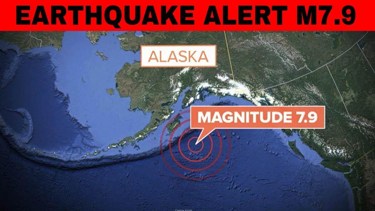 EARTHQUAKE ALERT M8.0 earthquake hits Gulf of Alaska