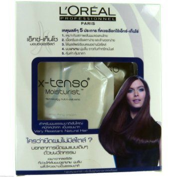 L'oreal X tenso Straightener Cream Straightening hair For