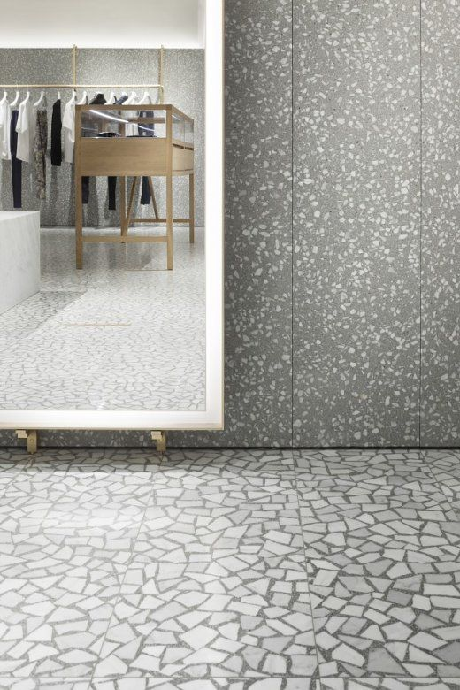 David Chipperfield Architects – Valentino Man Store - Terrazzo floor
