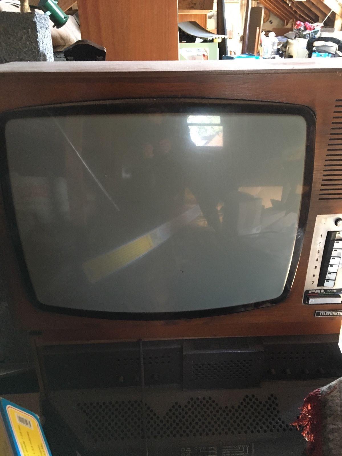 Retro Telefunken Bush Televisions Television Old Tv