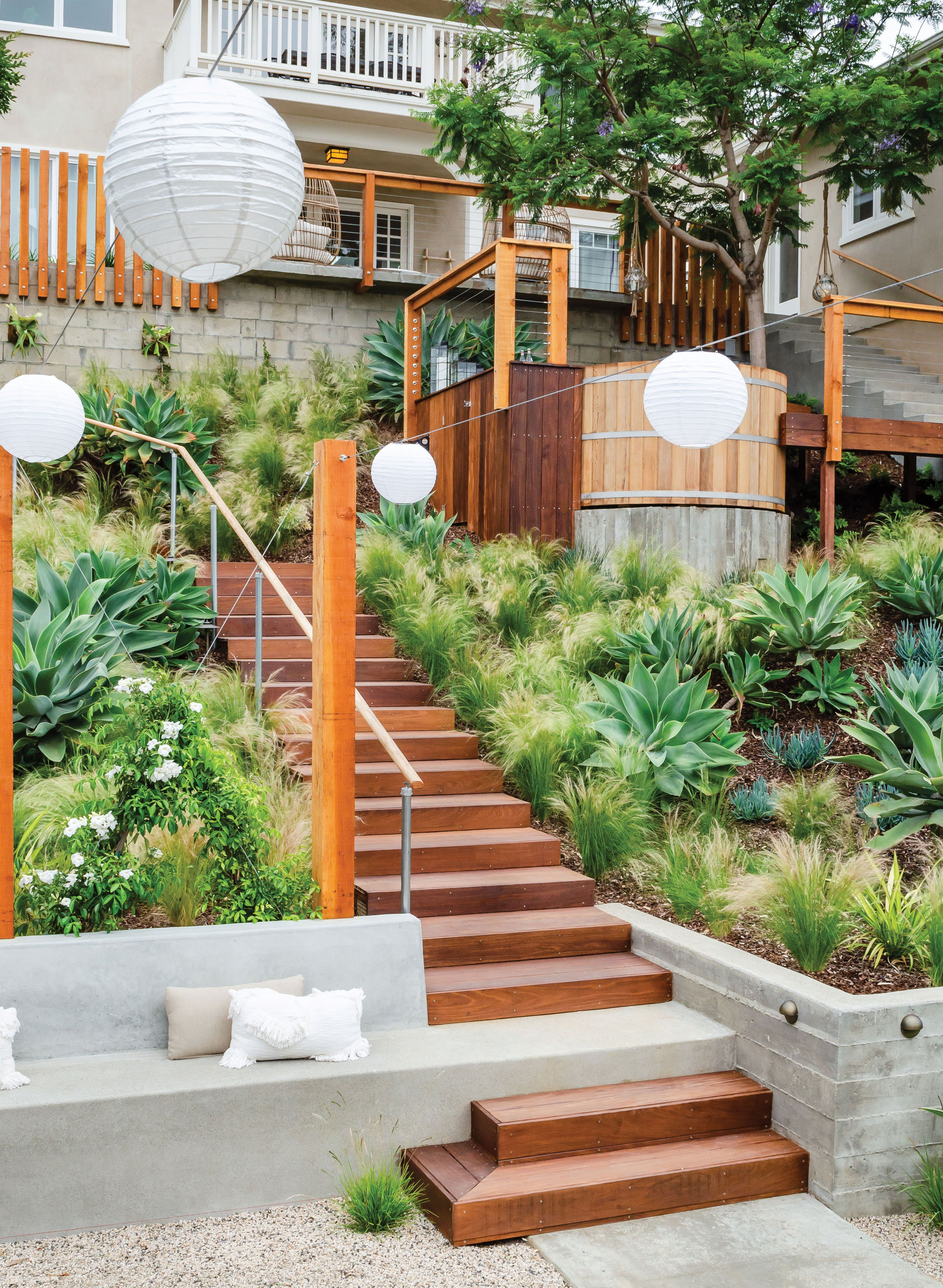 Gardens of the Year: Tiers of Joy | Small backyard pools ...