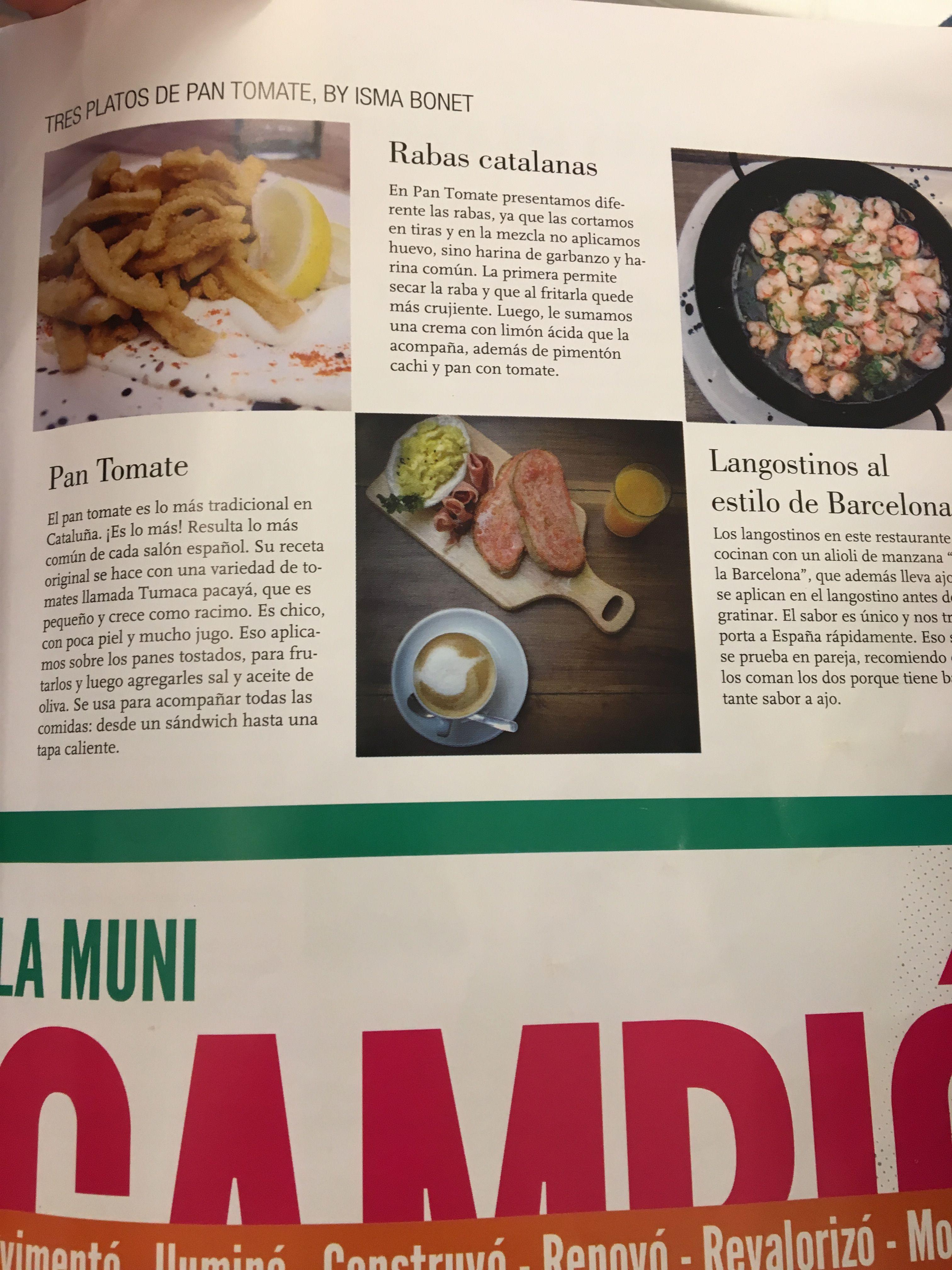 Pin De Paola Campo En Salado Pan Con Tomate Rabas Platos