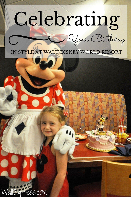Video: Celebrating Your Birthday in Style at Disney World! #DisneyWorld #BirthdayParty #KidsParty #DisneyParty