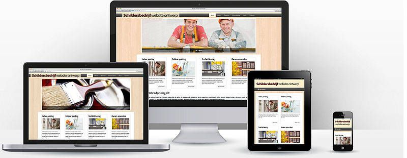 Schilder Website Maken - Template | Websitessmaken.nl