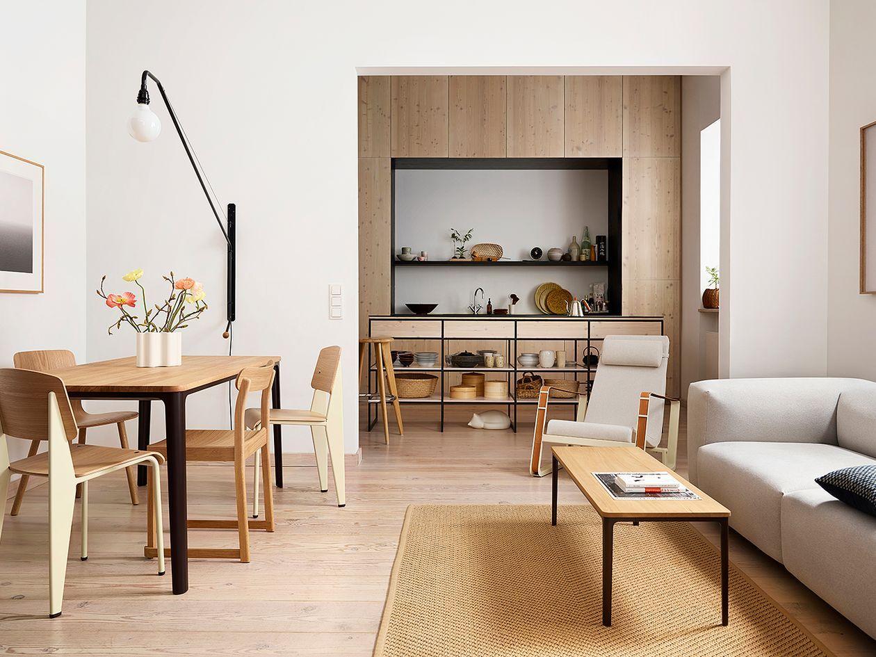 Jean Prouve Was A Design Experimenter Design Stories Noguchi Coffee Table Furniture Interior Design [ 945 x 1260 Pixel ]